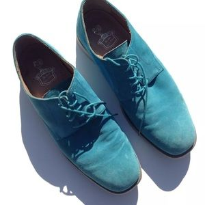 Other - Men Florsheim by Duckie Brown Blue Suede Shoes 12